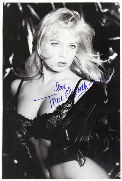 "1990s Traci Lords Signed 11"" x 16"" Poster (JSA)"