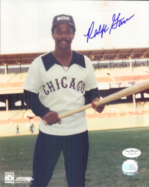 "1976-79 Ralph Garr Chicago White Sox Signed 8"" x 10"" Photo (*JSA*)"