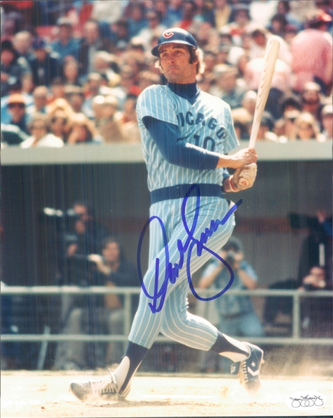 "1978-80 Dave Kingman Chicago Cubs Signed 8"" x 10"" Photo (*JSA*)"