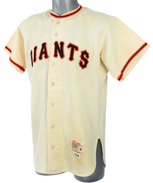 1964 Willie Mays San Francisco Giants Tribute Jersey (MEARS LOA)