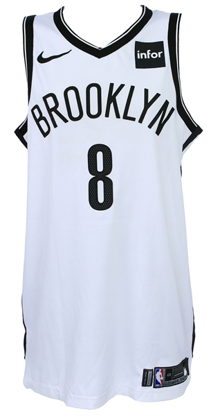 2018 (Feb 27/Mar 1) Spencer Dinwiddie Brooklyn Nets Game Worn Association Jersey (MEARS A10/Steiner)