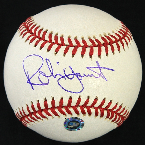 2002 Robin Yount Milwaukee Brewers Signed OML Selig County Stadium 1953-2000 Baseball (JSA/MLB Hologram)
