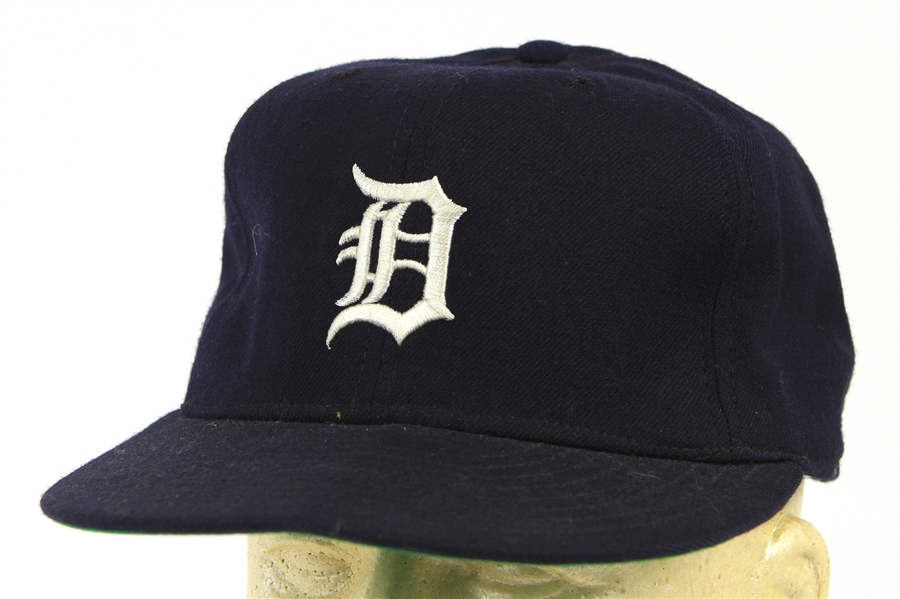 1970s Detroit Tigers Game Worn Cap (MEARS LOA)