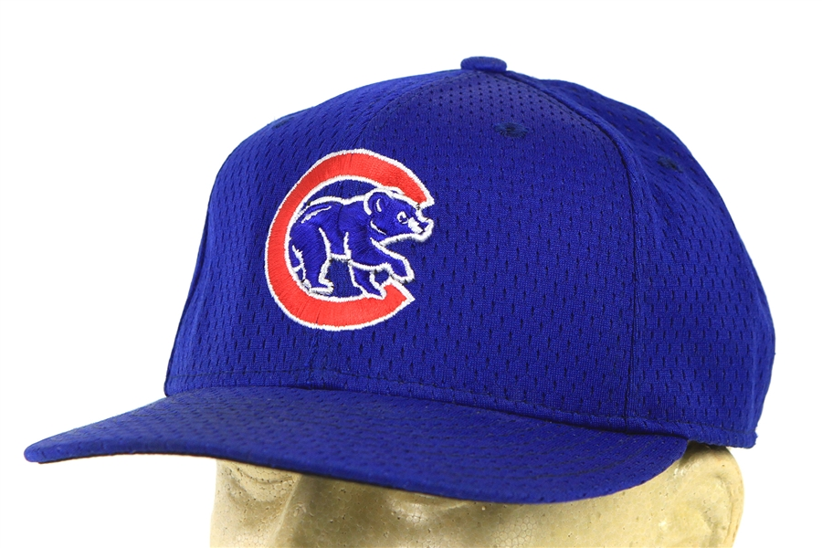 2002 Don Baylor Chicago Cubs Game Worn Cap (MEARS LOA)