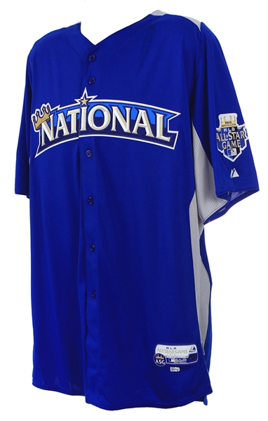 2012 Bryan LaHair Chicago Cubs All Star Game Batting Practice Jersey (MEARS LOA/MLB Hologram)