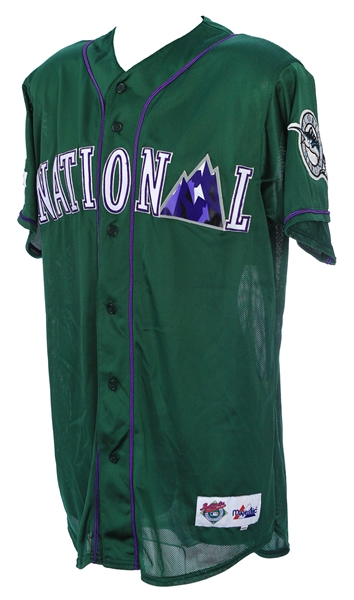 1998 Milt May Florida Marlins All Star Game Batting Practice Jersey (MEARS LOA)