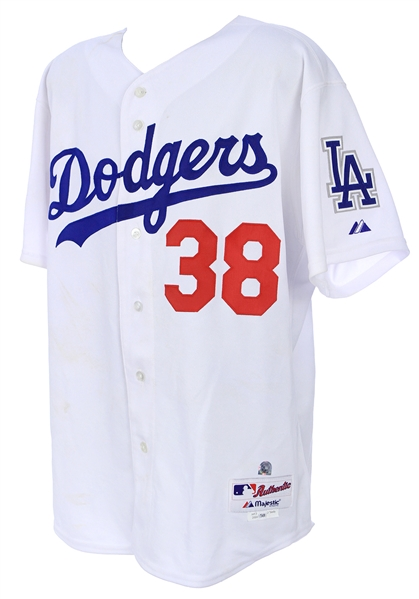 2004 Eric Gagne Los Angeles Dodgers Game Worn All Star Game Jersey (MEARS A10/MLB Hologram)