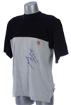 1977-81 Reggie Jackson New York Yankees Signed & Inscribed Game Worn Undershirt (MEARS LOA/JSA)