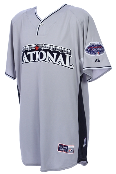 2008 Carlos Marmol Chicago Cubs Signed All Star Game Batting Practice Jersey (MEARS LOA/JSA/MLB Hologram)