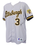 1993 Jay Bell Pittsburgh Pirates Signed All Star Game Jersey (MEARS A10/JSA/MLB Letter)