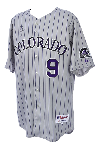 2008 Jamie Quirk Colorado Rockies Signed All Star Game Jersey (MEARS LOA/JSA)