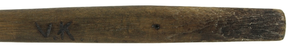 1850s Flat Sided Baseball Bat - An Excellent Example of the Earliest Style of American Baseball Bat Known (MEARS LOA)