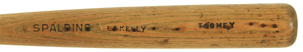 1910s Toomey / EB Kelly Spalding Store Model Baseball Bat