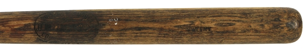 1911-16 Sweeny Sidewritten JF Hillerich & Son Co. Professional Model Game Used Bat (MEARS LOA)