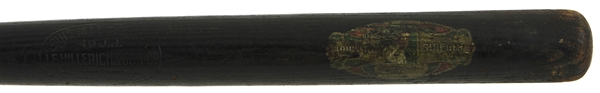 1911-16 Joe Jackson JF Hillerich & Son Co. 40 JJ Louisville Slugger Store Model Decal Bat