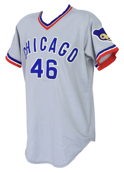 1972 Juan Pizarro Chicago Cubs Game Worn Road Jersey (MEARS A9) One Year Only Style