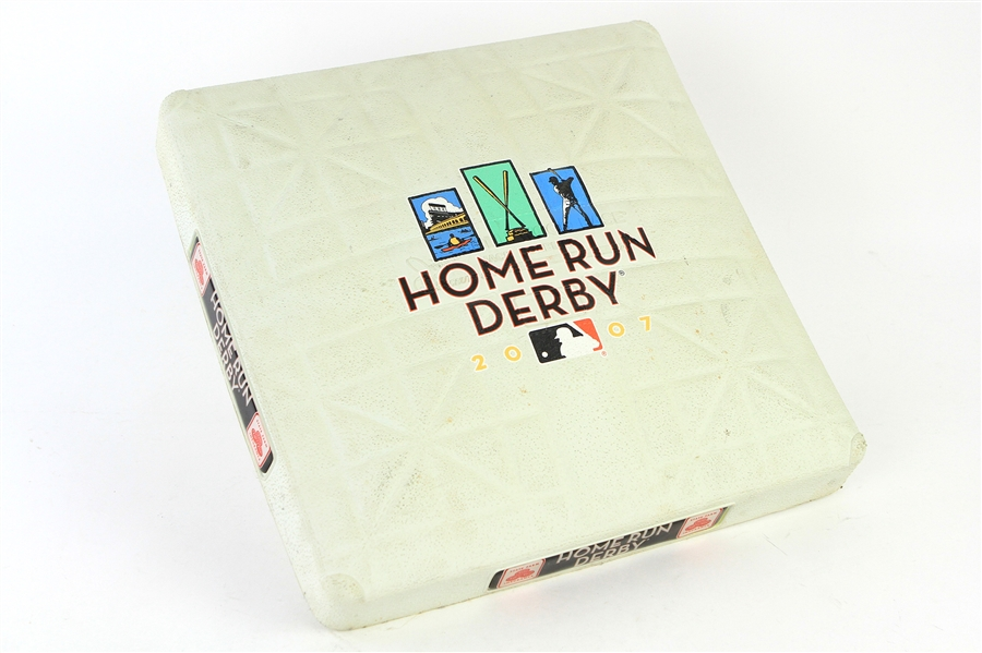 2007 AT&T Park MLB Home Run Derby Used Base (MEARS LOA/MLB Hologram)
