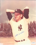 "1951-55 Bob Wiesler New York Yankees Signed 8"" x 10"" Photo (*JSA*)"