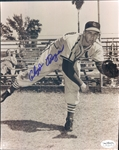 "1949-52 Cloyd Boyer St. Louis Cardinals Signed 8"" x 10"" Photo (*JSA*)"