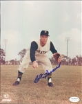 "1951-65 Bob Friend Pittsburgh Pirates Signed 8"" x 10"" Photo (*JSA*)"