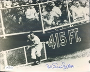 "1947 Al Gionfriddo Brooklyn Dodgers Signed 8"" x 10"" Photo (*JSA*)"