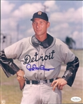 "1939-53 Hal Newhouser Detroit Tigers Signed 8"" x 10"" Photto (*JSA*)"