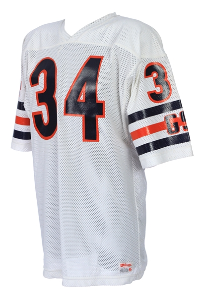 1984-86 Walter Payton Chicago Bears Signed & Inscribed Road Jersey (MEARS LOA/JSA)