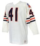 1969 Gale Sayers Signed Brian Piccolo Chicago Bears Road Jersey (MEARS LOA/JSA)