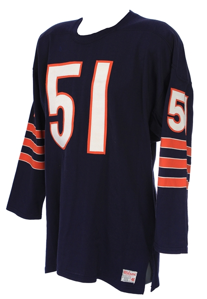 1970-73 Dick Butkus Chicago Bears Home Jersey (MEARS LOA)
