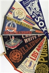 1950s-90s Baseball Hockey Football College Pennants Collection - Lot of 50+ w/ All Star Games, Super Bowls & More
