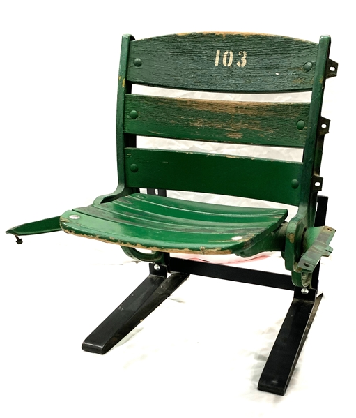 "1986 Chicago Cubs Wrigley Field 26"" x 31"" Seat #103"