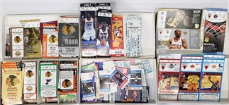 1980s-2000s Miscellaneous Baseball, Basketball, Hockey Tickets (Lot of 500+)