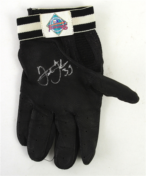 1990s-2000s Frank Thomas Chicago White Sox Signed Game Worn Batting Glove (MEARS LOA/JSA)