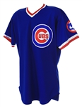 1988 Rick Sutcliffe Chicago Cubs Signed Game Worn Road Jersey (MEARS A10/JSA)