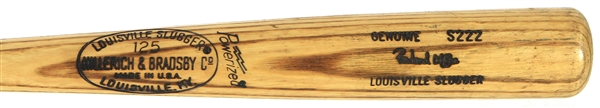 1978-79 Rowland Office/Bob Horner Atlanta Braves H&B Louisville Slugger Professional Model Game Used Bat (MEARS LOA)