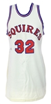 1972-73 Julius Erving Virginia Squires Signed Home Jersey (MEARS LOA/JSA)