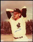 "1951, 54-55 Bob Wiesler New York Yankees Signed 8"" x 10"" Photo (JSA Hologram)"