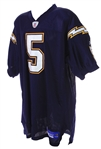 2004-06 Mike Scifres San Diego Chargers Home Jersey