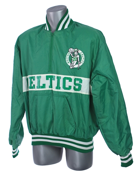1980s Boston Celtics Half Zip Pullover Jacket