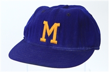 1974 Robin Yount Milwaukee Brewers Rookie Cap (MEARS LOA)