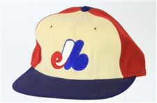 1977 Andre Dawson Montreal Expos Rookie Cap (MEARS LOA) NL Rookie of the Year