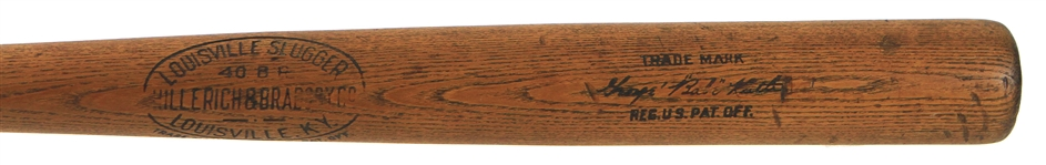 1916-21 Babe Ruth Red Sox/Yankees H&B Louisville Slugger 40BR Store Model Bat(MEARS LOA)