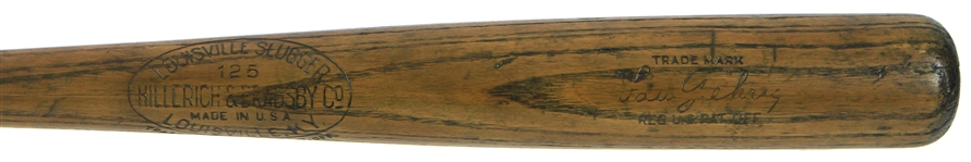 1923-30 Lou Gehrig New York Yankees H&B Louisville Slugger Store Model Bat