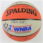 1998 WNBA Champion Houston Comets Team Signed Basketball w/ 13 Signatures Including Sheryl Swoopes, Cynthia Cooper, Tina Thompson & More (JSA)
