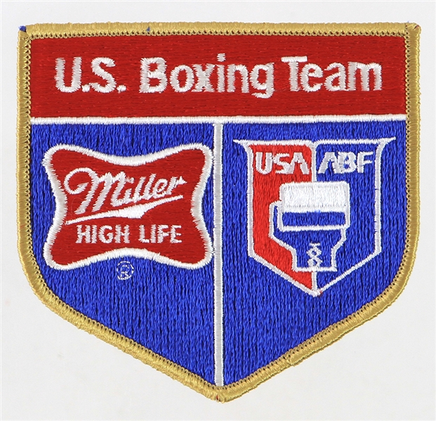 1980s Miller High Life USA ABF US Boxing Team Patch