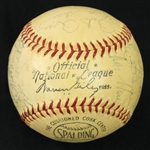 1963 Cincinnati Reds Team Signed ONL Giles Baseball w/ 26 Signatures Including Pete Rose Rookie Season, Frank Robinson, Joe Nuxhall & More (*Full JSA Letter*)