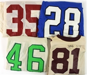 1970s-80s College Football Game Worn Jersey Collection - Lot of 7 (MEARS LOA)