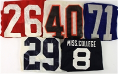 1970s-80s College Football Game Worn Jersey Collection - Lot of 9 (MEARS LOA)