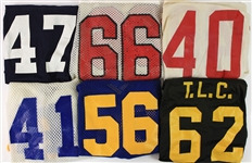 1970s-80s College Football Game Worn Jersey Collection - Lot of 11 (MEARS LOA)