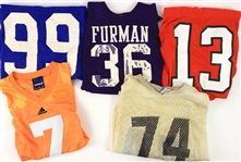 1970s-2000s College Football Game Worn Jersey Collection - Lot of 8 (MEARS LOA)